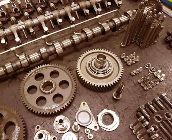écrous pièces détachées